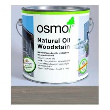 Osmo UK Natural Oil Woodstain Basalt Grey (903)