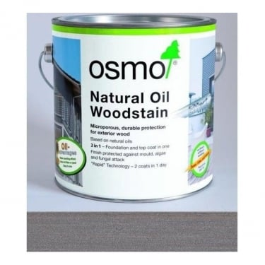 Osmo UK Natural Oil Woodstain Effect Graphite Silver (1142)