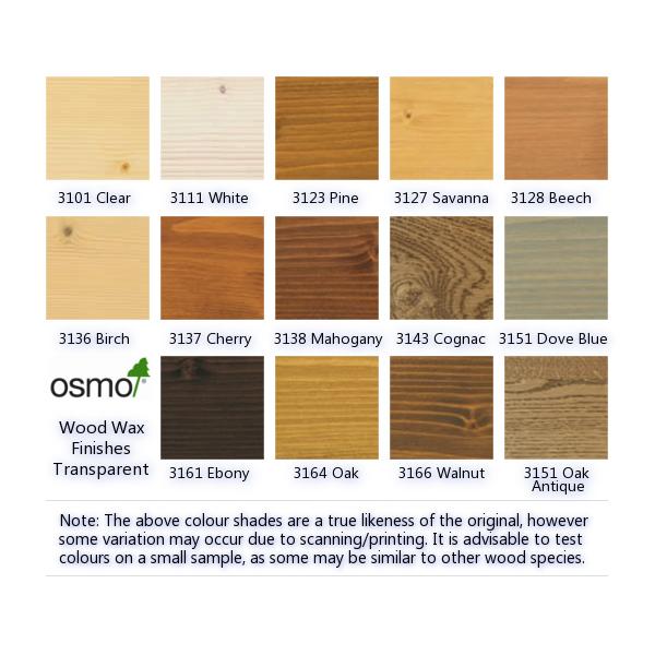 ... UK › Osmo UK Transparent Professional Wood Wax Finish Pine (3123
