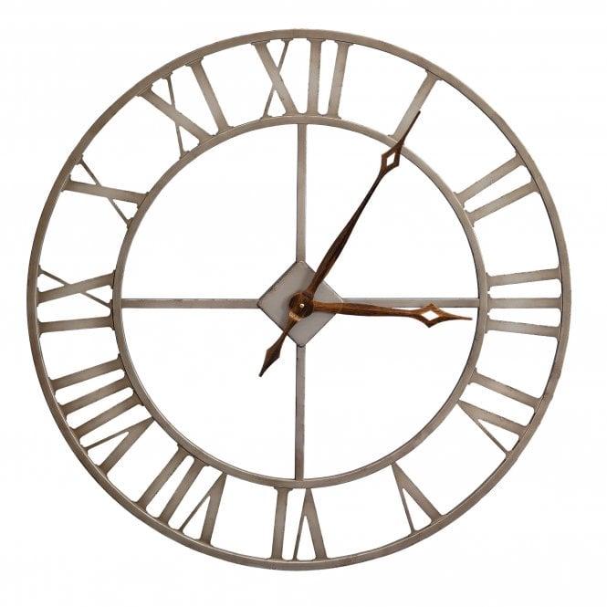 Outdoor Clock, Bronze Effect