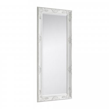 Palais Tall Wall Mirror, Eggshell White