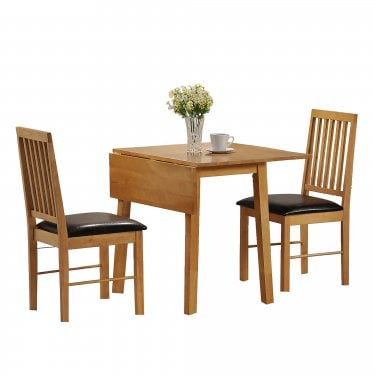 Palma Oak Dining Set 3-Pack