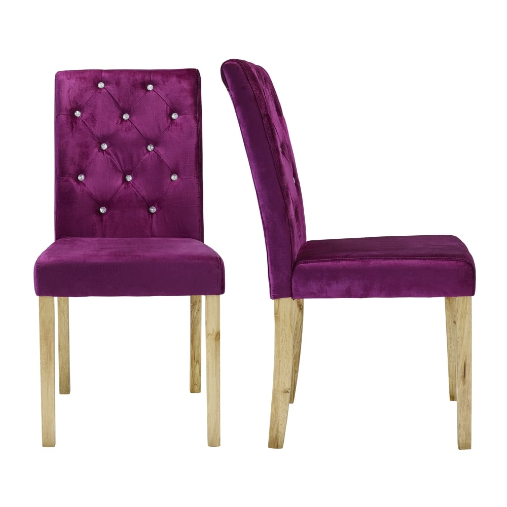 lpd furniture paris purple dining chair leader stores. Black Bedroom Furniture Sets. Home Design Ideas