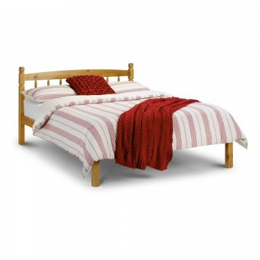 Pickwick Antique Pine Small Double Bed