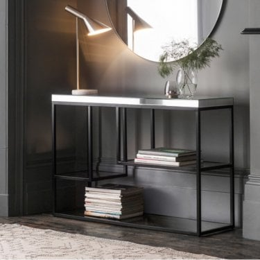 Pippard Console Table, Black