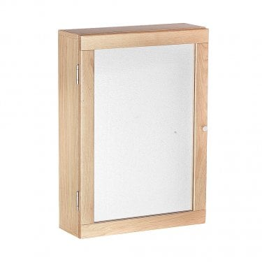 Port 1 Door Wall Cabinet, Oak