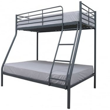 Primo Silver 4'6 Trio Bunk Bed