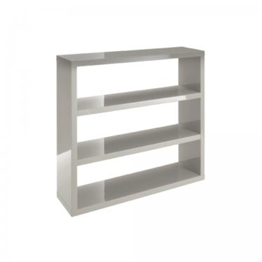 Puro High Gloss Stone Bookcase