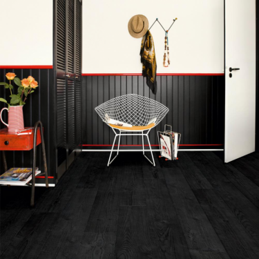 Quickstep Impressive 8mm Burned Oak IM1862 Laminate Flooring
