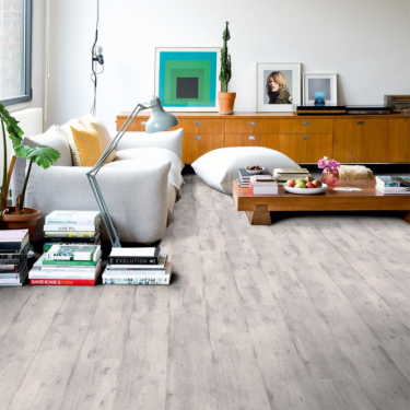 Quickstep Impressive 8mm Light Grey Concrete Wood IM1861 Laminate Flooring