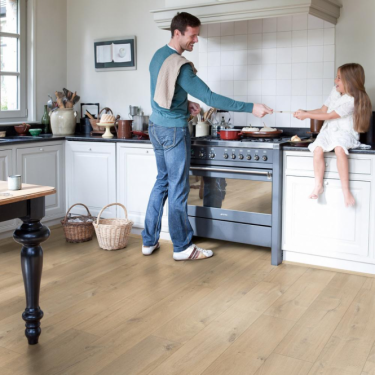 Quickstep Impressive 8mm Soft Warm Grey Oak IM1856 Laminate Flooring