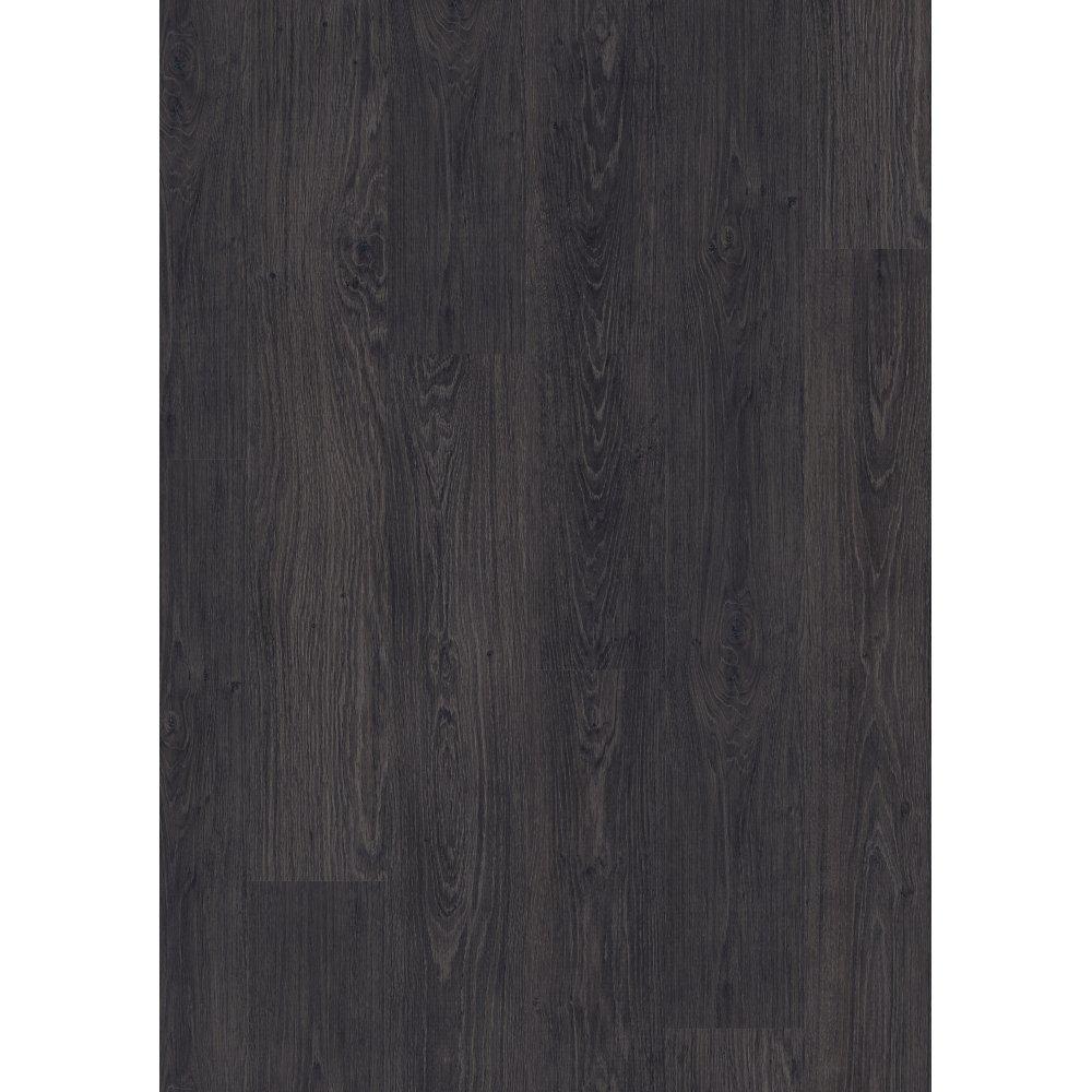 Quickstep livyn essential pro classic oak black laminate for Black laminate flooring