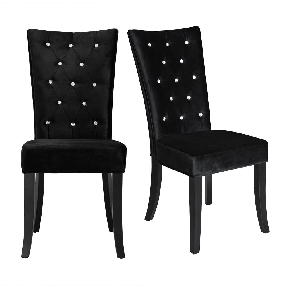 Furniture Stores Chairs: LPD Furniture Radiance Black Dining Chair