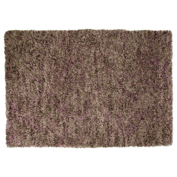 Spring Twist Brown/Purple Wool Rug