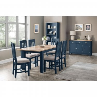 Richmond Dining Set Of 4, Midnight Blue