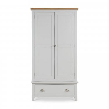 Richmond Elephant Grey Combination Wardrobe