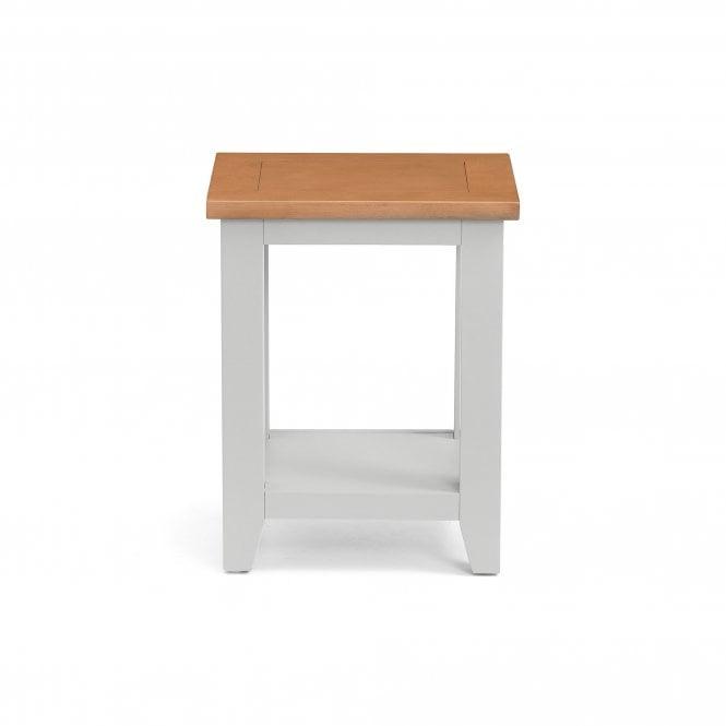 Richmond Lamp Table, Elephant Grey
