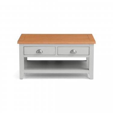 Richmond Oak & Grey 2 Drawer Coffee Table