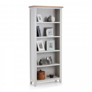 Richmond Oak & Grey Tall Bookcase