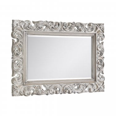Riegel Wall Mirror, Off-White