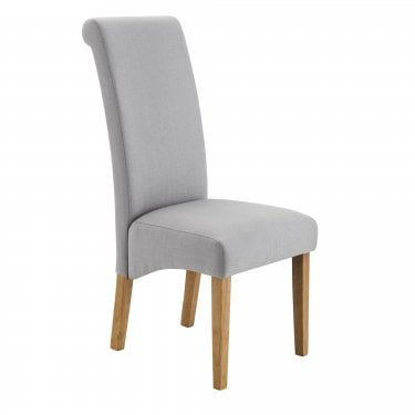 Rio Dining Chair Set Of 2, Shale Grey Linen
