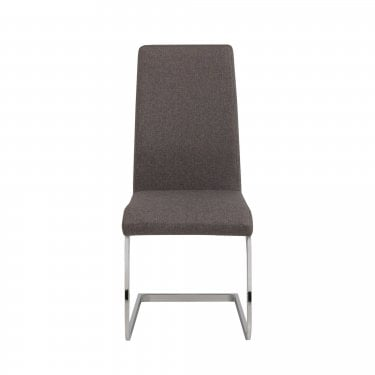 Roma Slate Grey Linen Dining Chair