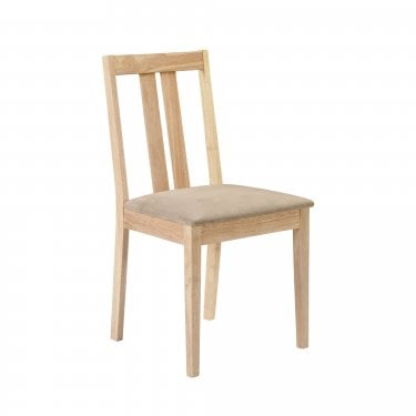 Rufford Beige Faux Suede Dining Chair