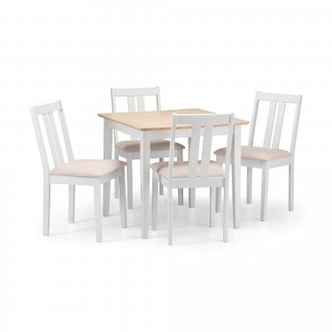 Rufford Dining Set Of 4, Ivory