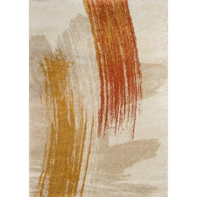 Sahara Cream Paint Stripes Rug 170x120cm (56202-268-120170)