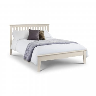 Salerno Ivory Double Shaker Bed