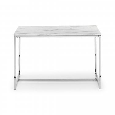 Scala Dining Set Of 4, White Marble
