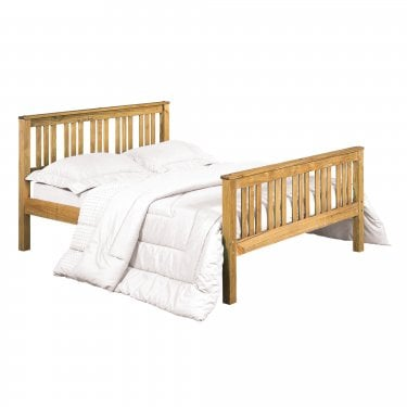 Shaker Antique Wax 5'0 Bed