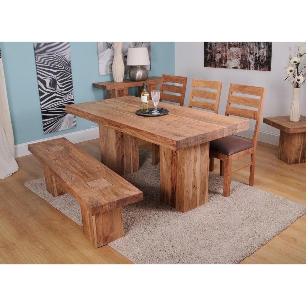 Alwar Large 18m Acacia Dining Table