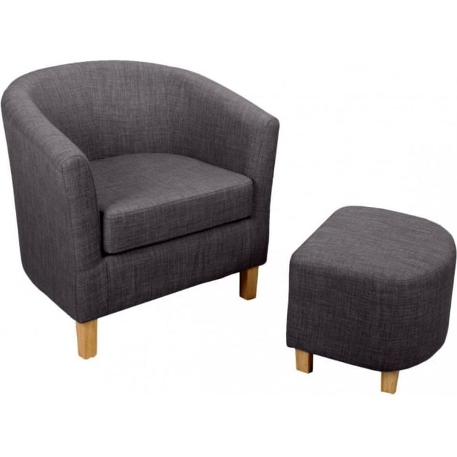 Image result for shankar tub chair charcoal linen