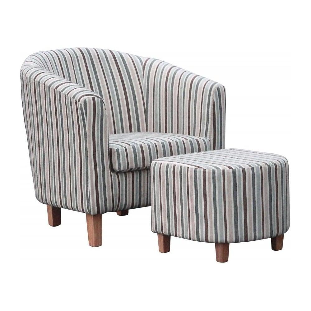 Duck Egg Blue Chair Fabric