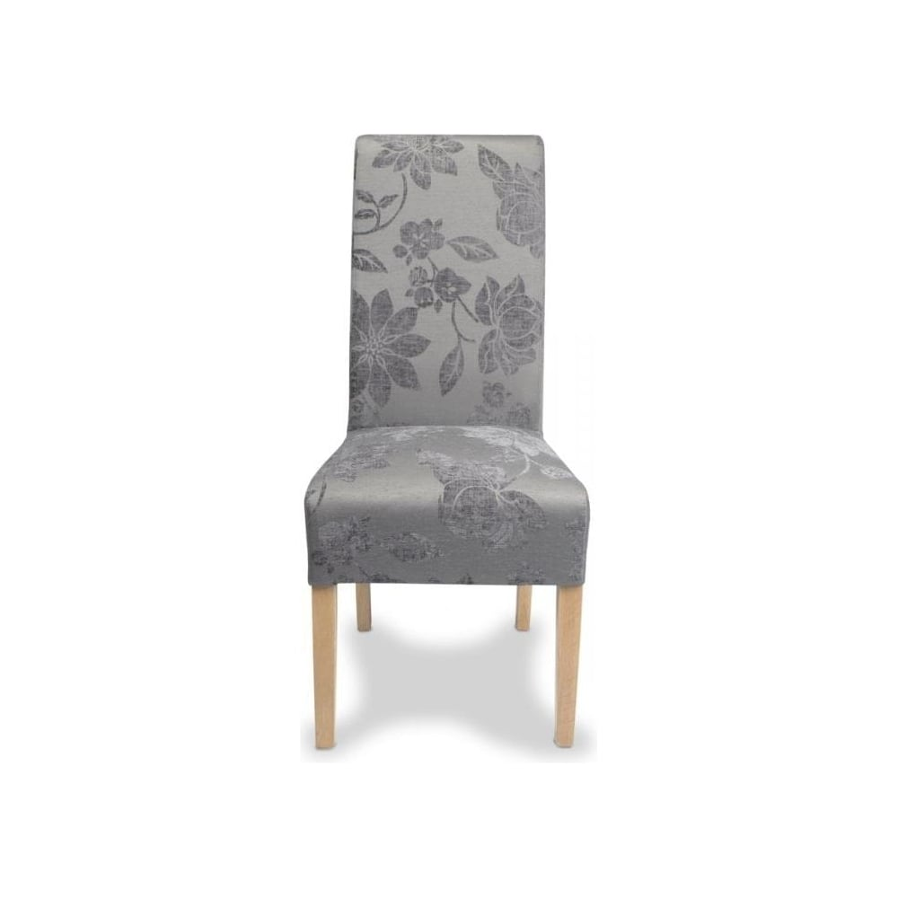 Shankar Krista Fleur Antique Grey Fabric Dining Chairs  : shankar krista fleur antique grey fabric dining chairs p40897 109336image from www.leaderstores.co.uk size 1000 x 1000 jpeg 26kB