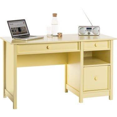 Sherbet Yellow Computer Desk