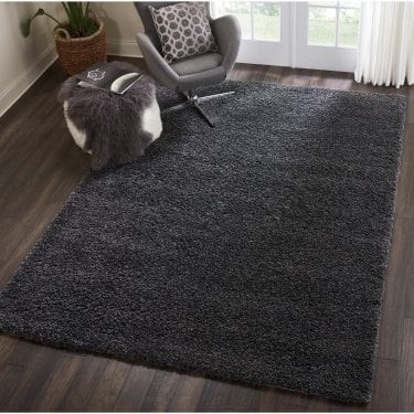 Small Sunshine Dark Barok Shaggy Rug 150x80cm (70071-077-80150)