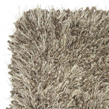 Small Sunshine Soft Brown Shaggy Rug 170x120cm (57201-177-120170)
