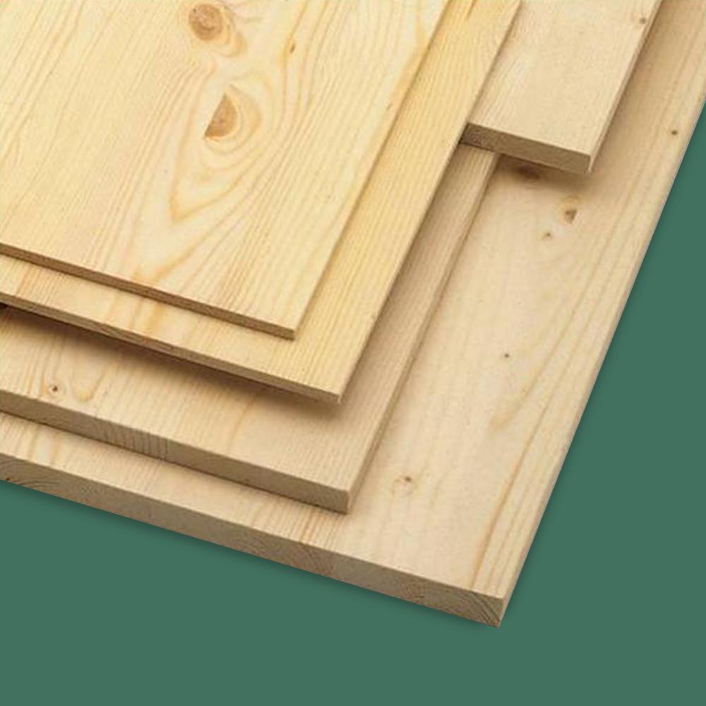 Solid redwood pine 18mm furniture board at leader stores for Furniture board