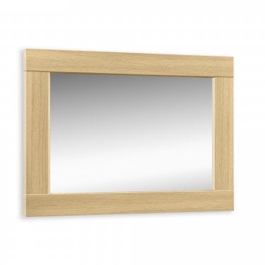 Stockholm Light Oak Wall Mirror