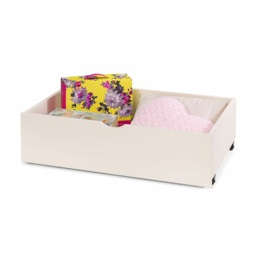 Stone White Wheelie Bin Underbed drawer