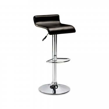 Stratos Brown Faux Leather Bar Stool