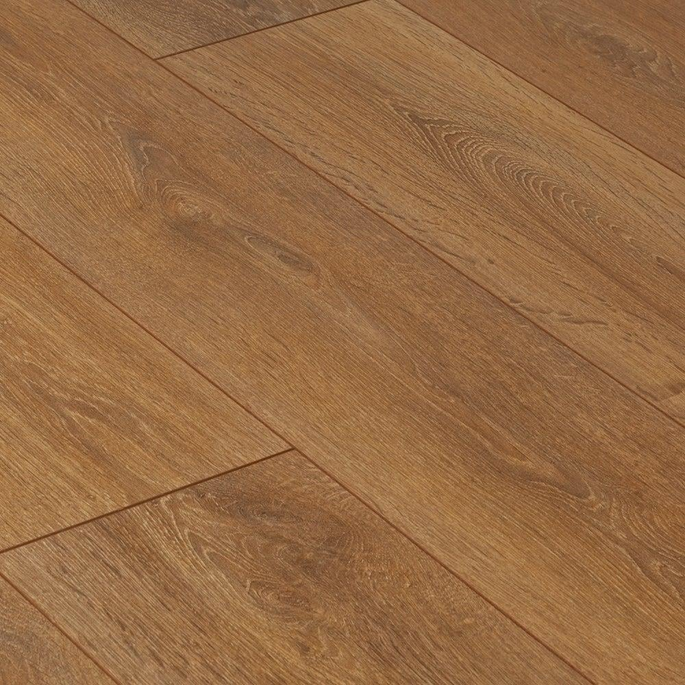 Krono supernatural narrow 8mm harlech oak ac4 laminate for Laminate flooring stores