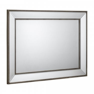 Symphony Pewter Wall Mirror