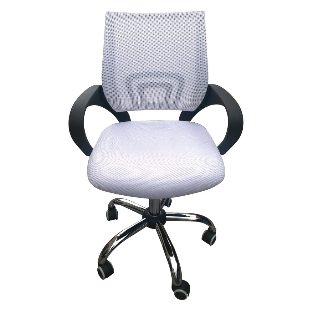 Lpd furniture tate white office chair