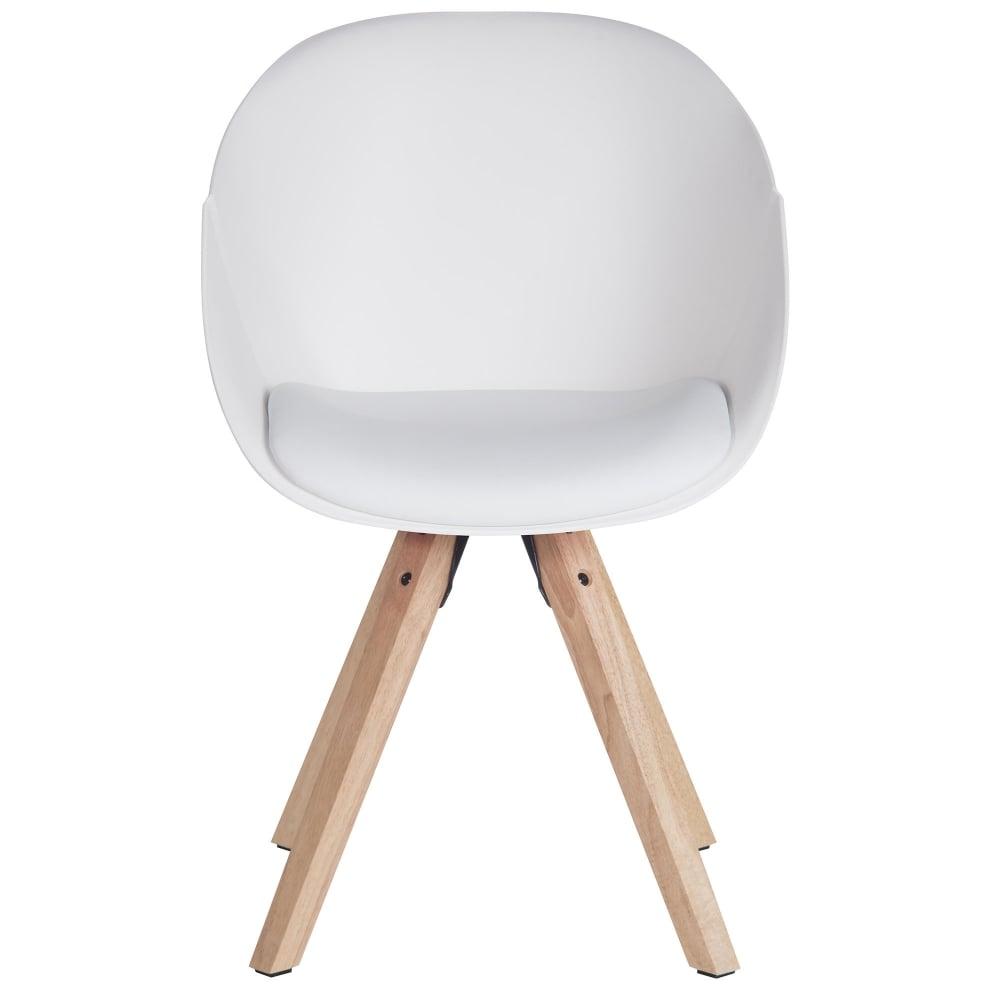 Teknik Pyramid White Visitor Tub Chair | Leader Stores