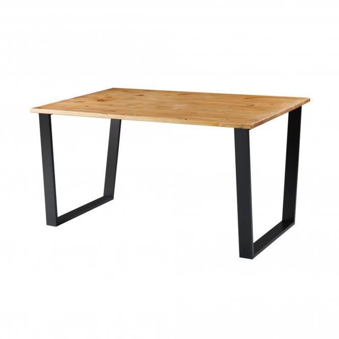Texas Rectangular Large Dining Table, Pine