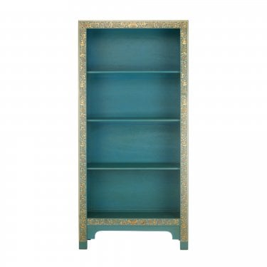 The Nine Schools Oriental Blue Bookcase