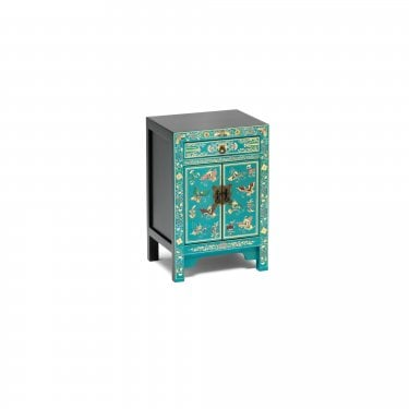 The Nine Schools Oriental Blue Small Cabinet